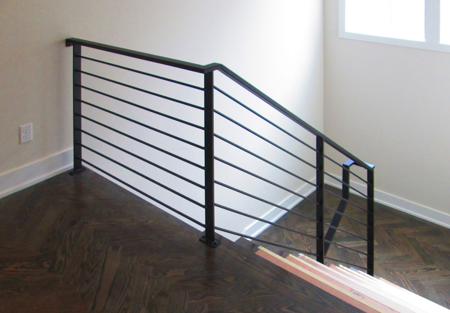 Charming Interior Railings